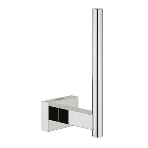 Grohe 40624001 Essentials Cube 18 In. Double Towel Bar Chrome