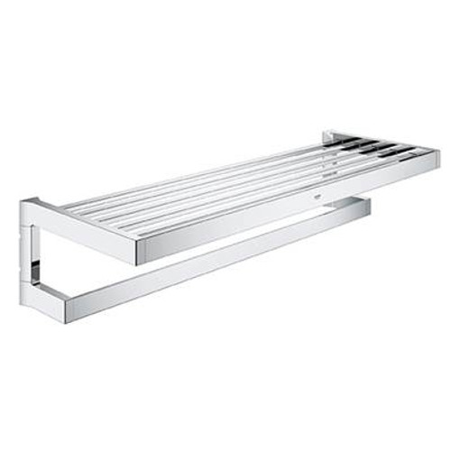 Grohe 40804000 Selection Cube Towel Rack Chrome