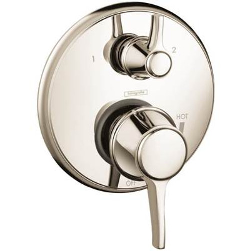 Hansgrohe 04449920 Metris C Trim Pressure Balance with Diverter RUBBED BRONZE