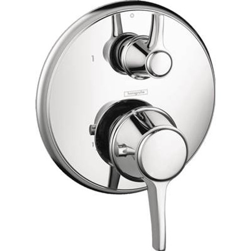 Hansgrohe 15752821 Metris C Thermostatic Trim w/Volume Control BRUSHED NICKEL