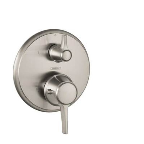 Hansgrohe 15752831 Metris C Thermostatic Trim w/Volume Control POLISHED NICKEL