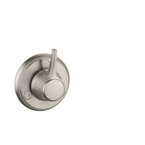 Hansgrohe 15934831 Metris C Trio/Quattro Trim POLISHED NICKEL