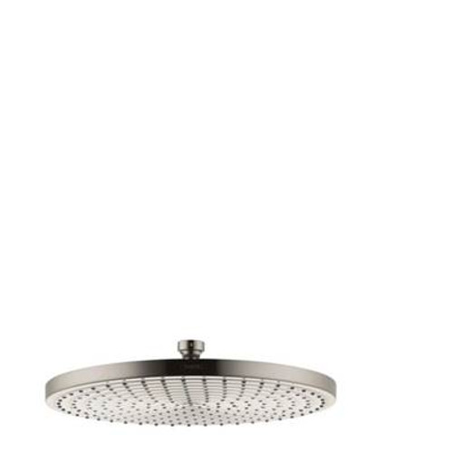 "Hansgrohe 27493821 Raindance 12"" Showerhead BRUSHED NICKEL"