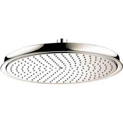 Hansgrohe 28428831 Raindance C 300 1 Jet Showerhead POLISHED NICKEL