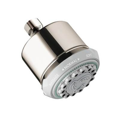 Hansgrohe 28496831 Clubmaster Showerhead POLISHED NICKEL