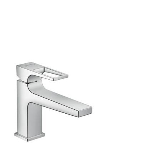 Hansgrohe 74505821 Metropol 100 Single-Hole Faucet with Loop Handle without Pop-Up, 1.2 GPM Brushed Nickel