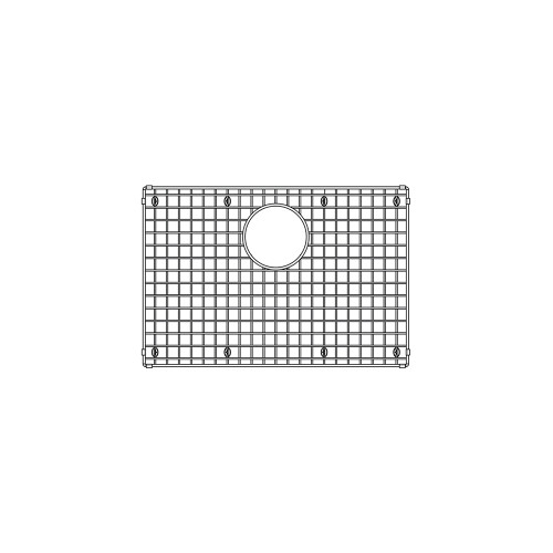 Blanco 236782 Stainless Grids PRECIS 1.75 Low Divide Large bowl