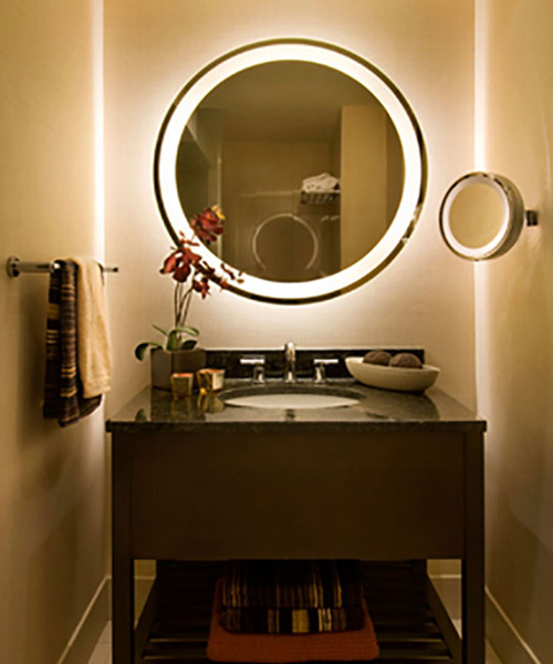 Electric Mirror ETE-2130-AE Eternity Lighted Mirror w/AVA