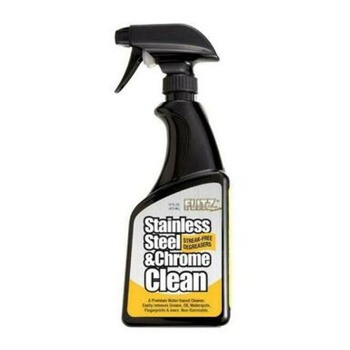 Flitz Flitz SP01506 Stainless Steel and Chrome Clearner, 16 oz