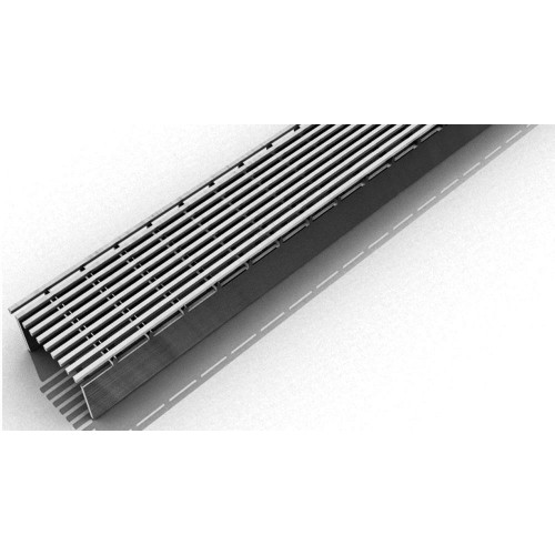 """Infinity Drain  96"""" SAG 6596 PS Complete Kit Polished Stainless"""