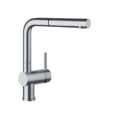 Blanco 441197 Linus Pull-Out Kitchen Faucet Satin Nickel
