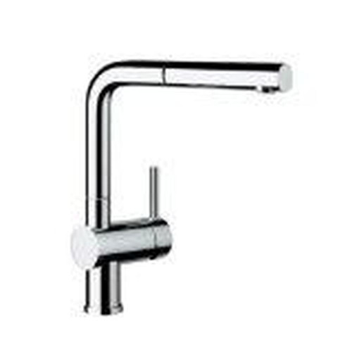 Blanco 441430 Linus Dual Spray Pull-Out Kitchen Faucet Chrome