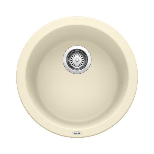 Blanco 513381 Rondo Bar Sink, Silgranit II Biscuit