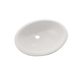 TOTO LT579G#11 Rendezvous Oval Undermount Bathroom Sink with CeFiONtect, Colonial White - LT579G#11