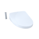 TOTO SW3056AT40#01 S550e WASHLET+ and Auto Flush Ready Electronic Bidet Toilet Seat with EWATER+ and Auto Open and Close Contemporary Lid, Elongated, Cotton White - SW3056AT40#01