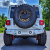 2018-Present Wrangler Predatör Series Rear Bumper w/ Tire Carrier
