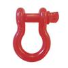 """3/4"""" D-Ring Shackle Pair - Firecracker Red Gloss"""