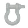 "3/4"" D-Ring Shackle Pair - Billet Silver Gloss"