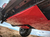 2018-Present 4-Door Wrangler Gas Tank Skid Plate - Black Gloss