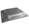 2018-Present 4-Door Wrangler/Gladiator Transfer Case Skid Plate - Bare Steel