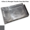 2018-Present 4-Door Wrangler/Gladiator Transfer Case Skid Plate - Granite Crystal Gloss