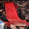 2018-Present 4-Door Wrangler/Gladiator 3.6L Engine Skid Plate - Firecracker Red Gloss