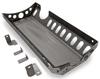 2018-Present Wrangler Exhaust Skid Plate - Bare Steel