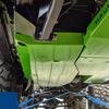 2018-Present 2-Door Wrangler Gas Tank Skid Plate - Ocean Blue Gloss