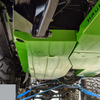 2018-Present 2-Door Wrangler Gas Tank Skid Plate - Billet Silver Gloss