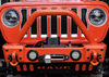 2007-Present Wrangler/Gladiator Predatör Series Front Bumper - Bare Steel