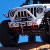 2007-Present Wrangler/Gladiator Predatör Series Front Bumper - White Gloss