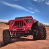 2007-Present Wrangler/Gladiator Predatör Series Front Bumper - Firecracker Red Gloss