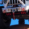 Predatör Series Sway Bar Skid Backer Plate - Firecracker Red Gloss
