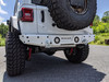 2018-Present Wrangler Predatör Series Rear Bumper w/ Tire Carrier - White Gloss