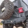 2018-Present Wrangler Predatör Series Rear Bumper w/ Tire Carrier - Sting Gray Gloss