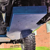 2019-Present JT Gladiator Gas Tank Skid Plate - Billet Silver Gloss