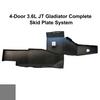 2019-Present 3.6L JT Gladiator Complete Skid System - Sting Gray Gloss