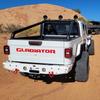 2019-Present JT Gladiator Predatör Series Rear Bumper - White Gloss