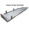2007-2018 4-Door Wrangler Gas Tank Skid Plate - Bare Steel