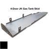 2007-2018 4-Door Wrangler Gas Tank Skid Plate - Black Texture