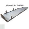 2007-2018 4-Door Wrangler Gas Tank Skid Plate - White Gloss