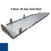 2007-2018 4-Door Wrangler Gas Tank Skid Plate - Ocean Blue Gloss