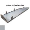 2007-2018 4-Door Wrangler Gas Tank Skid Plate - Billet Silver Gloss