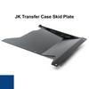 2007-2018 Wrangler Transfer Case Skid Plate - Ocean Blue Gloss