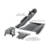 2007-2011 3.8L 4-Door Wrangler - Complete Skid Plate System - Black Gloss