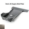 2007-2018 Hemi Wrangler Engine Skid Plate - Bare Steel