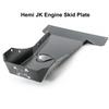 2007-2018 Hemi Wrangler Engine Skid Plate - Black Texture