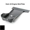 2007-2018 Hemi Wrangler Engine Skid Plate - Black Gloss