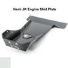 2007-2018 Hemi Wrangler Engine Skid Plate - White Gloss