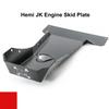 2007-2018 Hemi Wrangler Engine Skid Plate - Firecracker Red Gloss